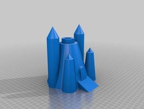 cool 3d sand castle mold math art architecture beach fun buildacastle castle math math art mold sand sandcastle sand castle