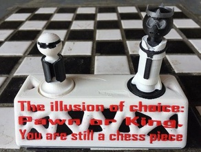 illusion choice chess asllexicon chess chess display chess king chess pawn chess piece chess pieces chess set chess stand choice display display chess display stand gift illusion illusion life illusion choice king life life illusion  matrix morpheus neo olsen pawn pawns pawn chess piece pawn game present prusa stand chess star labs 3d starlabs3d tinkercad todd todd olsen toy