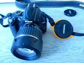 double 52&62mm lenscapholder camera 52mm 62mm holder lens lenscapholder nikon