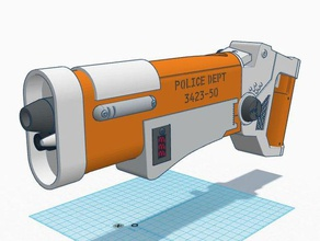 fifth element police blaster props 5th element bruce willis element fifth element leeloo leeloo dallas movie movies movie prop police police blaster police gun sci-fi scifi fifth element