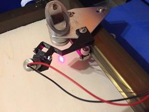 laserpointer mount f r 40w k40 co2 laser cutter diy k40 k40 laser l laser laserpointer mount