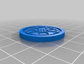 avatar white lotus tile coins & badges avatar avatar last airbender korra lotus last airbender legend korra white
