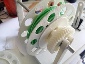 mini filament spool automatic winder 3d printer extruders 3d-tech abs filamake mini spool mnii spo spol