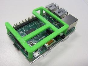 rpi touchscreen support electronics raspberry pi raspberry pi case spi