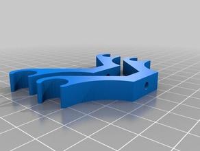 tarot compatible camera hangermount rc vehicles rail hanger rail mount tarot-rc tarot 680 tarot gimbal tarot t-2d