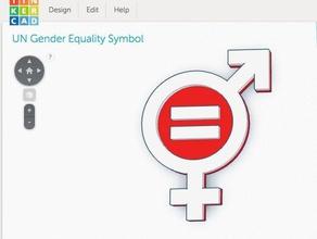 un gender equality symbol signs logos female sdg united nations