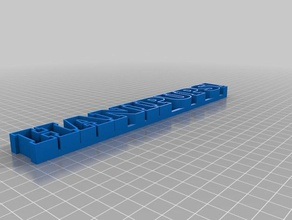 my customized text storage2 sculptures