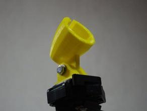 hairdryer mount tripod camera adapter adjustable equipment fhn stativ timelaps zeitraffer