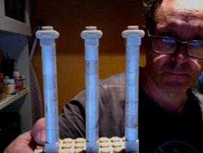 el capitel jonico exin castillos de la construcción juguetes
