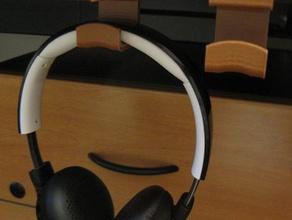 headphone hook improved different shelf thickness office bracket bend desktop hanger household ikea improved design table tidy useful