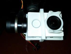 Adapterplatte xiaomi yi feiyu-tech mini-3d-gimbal rc Fahrzeuge