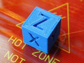 xyz 20mm calibration cube 3d printing tests 2020 2020 cube calibration test test print