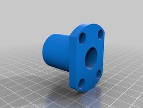 lmh16uu 16mm flanged linear bearing oval flange 3d printer parts 16mm bearing 16mm flanged bearing 16mm linear bearing lm16uu