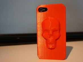 low poly skull iphone case 4 4s 5s 6 6 plus mobile boogaert free iphone 4 iphone 4s iphone 4s case iphone 4 case iphone 5 iphone 5s iphone 5s case iphone 5 case iphone 6 iphone 6 case lowpoly mathijs mathijs boogaert no support thingiverse
