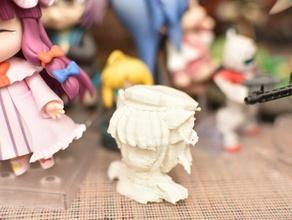 chen buzinar buzinar esculturas anime do busto touhou vídeo do jogo