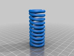 spring 3d printing tests bed spring leaf spring pla spring motor spiral spring springloaded springs springy spring loaded
