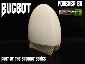 Impreso en 3d bugbots los juguetes juegos 3dprintit bashbots bristlebot bristlebots dc mot los robots