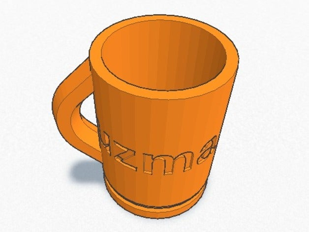 uzma cup 3d printing glas