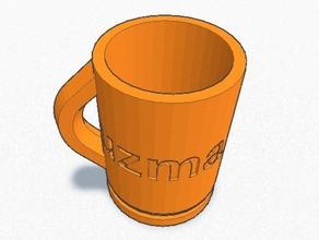 uzma cup 3d printing glass