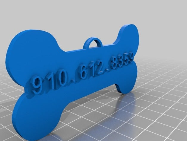 my customized dog tag 1 p