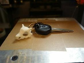 cubone pokemon skull keychain keychains nintendo video game