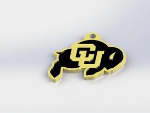 colorado buffaloes keychain keychains boulder college cu buffs cu boulder ncaa university