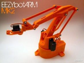 eezybotarm mk2 robotics 3d printed eezybotdelta pololu printed robot robotic arm