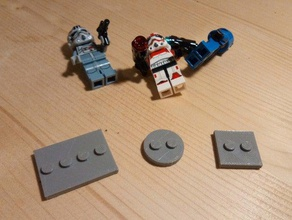 lego compatible minifigure stand toys games appoggio base minifigures omini omini lego omino omino lego supporto
