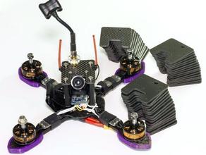 shrike top plate v2 rc Fahrzeuge Drohne fpv gopro mount quad quadcopter xiaomi xiaomi yi