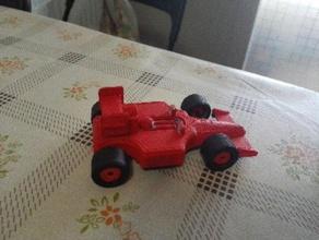 coche de carreras vehículos maqueta miniatura en miniatura juguete
