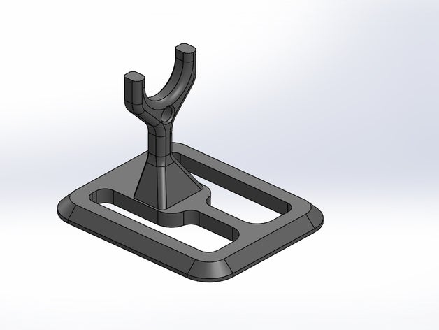 airsoft pistol stand 3d p