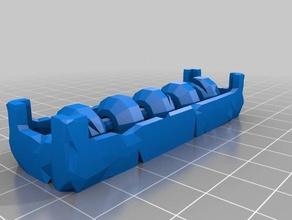 pietra abacus giocattolo gioco accessori gioco da tavolo il contatore in frantumi in frantumi rpg
