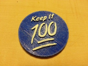keep 100 art button comedy comedy central keychain larry wilmore refrigerator refrigerator magnet
