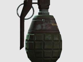 fallout 4 grenade props cryogenic grenade fragmentation grenade nuka grenade plasma grenade pulse grenade