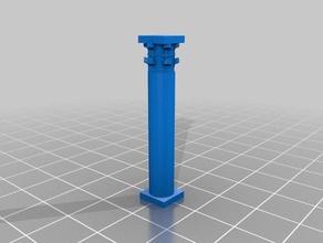 simple corinthian column 3d printing ancient ancient column ancient greece ancient rome columns corinthian columns greek roman