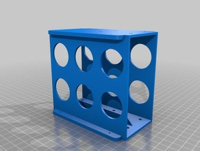 pergo2drive35inchcage 2 drive ver my 3 drive cage computer 25 hdd 35 hdd 3dmodel 3dprintable 3d print 3d printer 3d printing abs adapter awesome caged case compact companion computer case computer desk desktop desktop holder drill fit hard drive hdd 25 hdd 35 hdd adapter hdd stand heat holes inside interior interlocking internal mount mounting mounting bracket neat no support organize organizer pla reprap screw simple slide thick thickness wall thickness