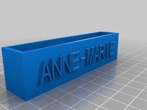 anne-marie card holder office customized