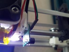 sensor mount dc42 differential ir sensor smartrapcore alu default e3d v5clone hotend printer parts