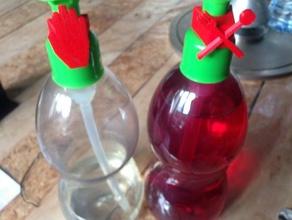 recyclage distributeur sirop Haushalt doseur savon