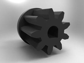 robo r1 plus extruder gear 3d printer parts extruder pinion gear r1 plus gear robo r1 gear robo r1 plus gear extruder robo 3d plus robo r1 parts robo r1 plus parts robo ri parts