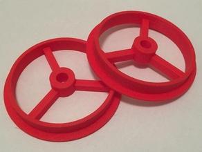 spool hub 75 mm 8 mm 3d printer accessories filament spool hub filament spool holder rigidbot spool hub spool adaptor spool mount