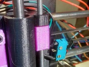 axis anti backlash prusa i3 shorter version 3d printer parts anti-backlash antibacklash anti backlash nut improvement m5 thread reprap wobble z-axis z-wobble