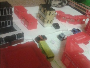 miniature city ho model railroad ho miniature parts kit buildings structures ho building ho city ho town ho train ho trains jlsilicon model train model trains