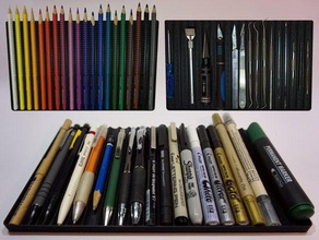 tool pen brush tray multiple sizes organization brush holder paintbrush holder paintbrush tray pencil holder pencil tray pen holder pen tray tool holder tool tray