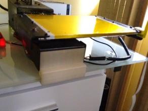 printerbot desk clip 8 mm desk 3d parts 3d printer printrbot