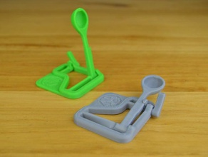 micro catapult mechanical toys 1 awesome thing 3d printed catapult desk catapult educational educational toy games mechanical toy mini catapult print-in-one print-in-place print once print place small catapult up 3d printer up plus2 up plus 2 zortrax zortrax m200