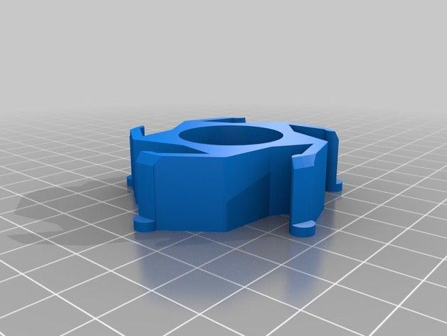my customized spool hub a