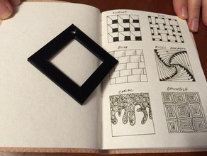zentangle border stencil art tools drawing quick print sketch sketching tangle pattern tangle patterns
