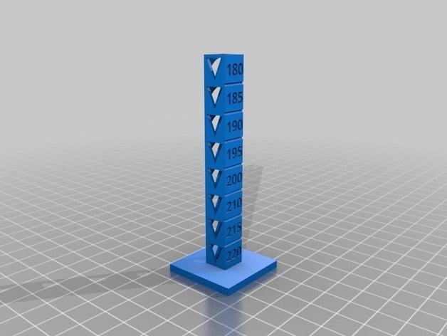 temp testing 3d printing