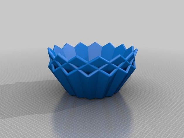 15 sided bowl 3d printing
